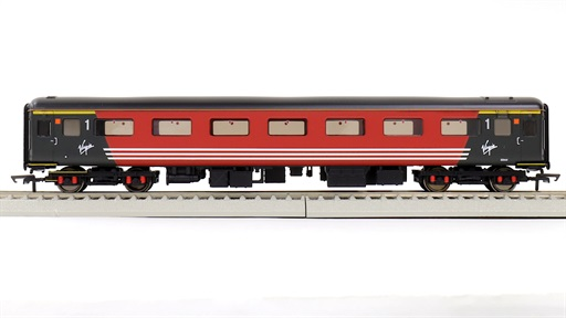 HORNBY [R4944A] Virgin Trains MK2F 1等客車 #3344 (OO 1/76 16.5mmゲージ 動力なし)